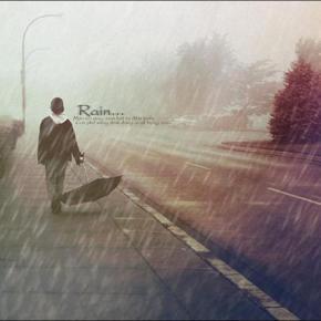 Kiss… the rain