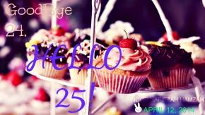 Hello 25!